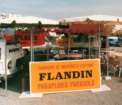 Stand parasols Flandin archives
